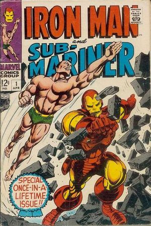 Iron Man and Sub-Mariner