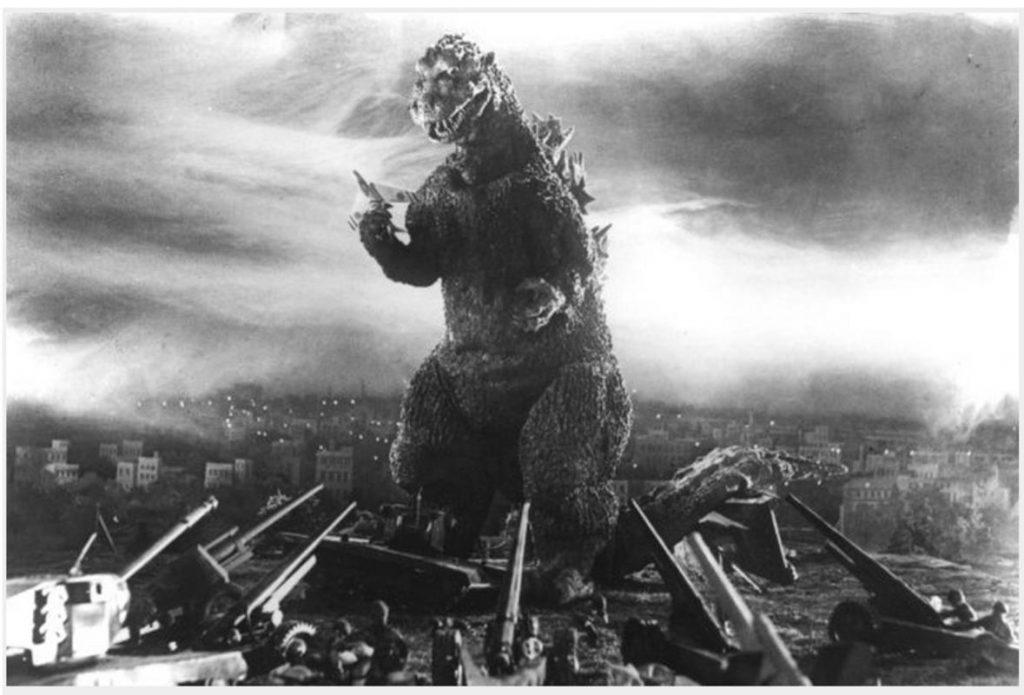 Go, go, Godzilla!
