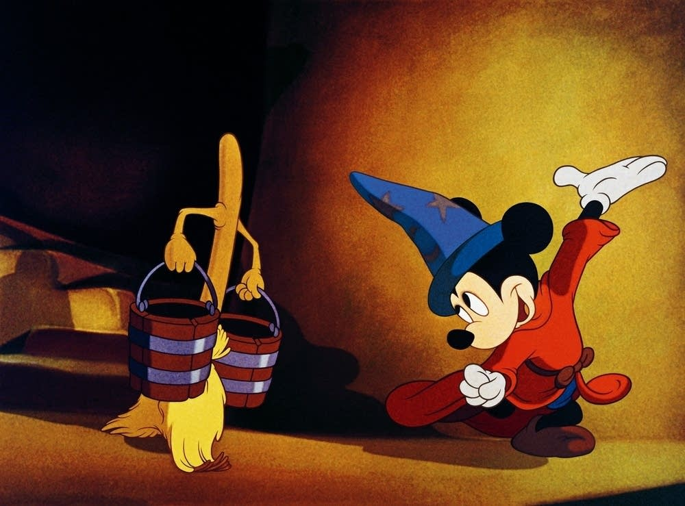 The Sorcerer's Apprentice: the best Mickey cartoon?