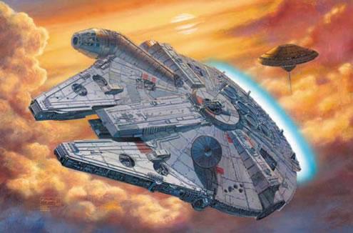 Millenium falcon - USR Wednesdays: Vehicles