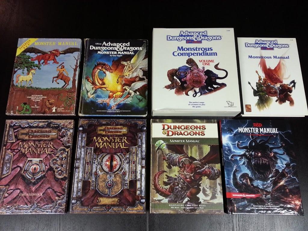 monster manuals - USR Wednesdays: Monsters