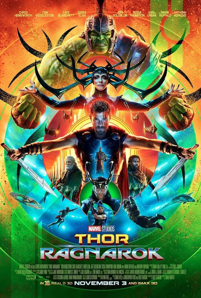 thor ragnarok poster main - USR Wednesdays: Thor
